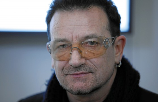 DAVOS/SWITZERLAND, 29JAN11 - Bono, Lead Singer of U2 and Co-Founder, ONE campaign and (RED), ONE, United Kingdom, during a facebook interview, during the Annual Meeting 2011 of the World Economic Forum in Davos, Switzerland, January 29, 2011. Copyright by World Economic Forum swiss-image.ch/Photo by Moritz Hager